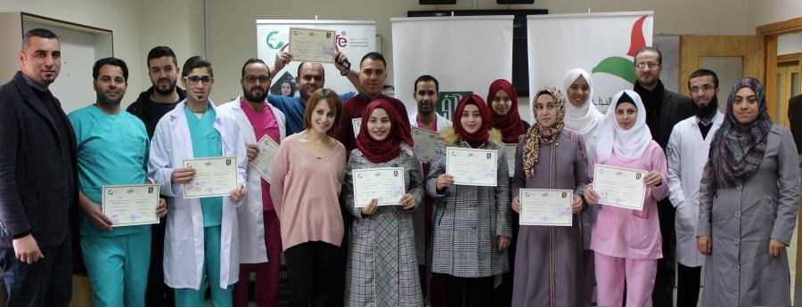 تدريب وتوظيف مجموعة جديدة من الممرضين الجدد
